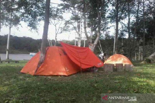Ketika wisata Danau Tambing dibuka kembali