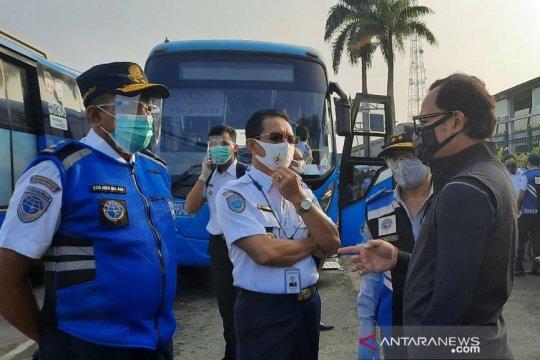 PPD kerahkan 65 bus angkut penumpang KRL Cikarang dan Bogor
