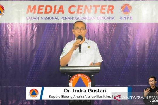 BMKG: 64 persen wilayah Indonesia memasuki musim kemarau