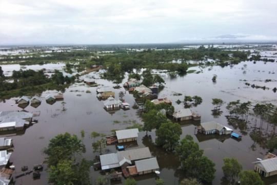 Banjir di Konawe dera 8.314 jiwa, dua desa masih terisolasi