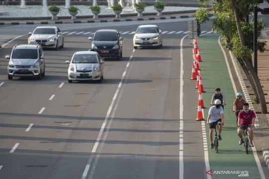 BPJT belum terima hasil simulasi jalur sepeda di tol dari Dishub DKI