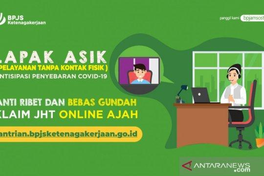 Klaim JHT Kalimantan via Lapak Asik mencapai Rp136 miliar
