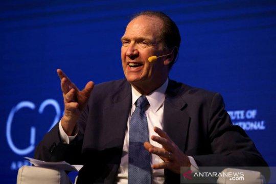 Kepala Bank Dunia desak G20 perpanjang penangguhan utang hingga 2021
