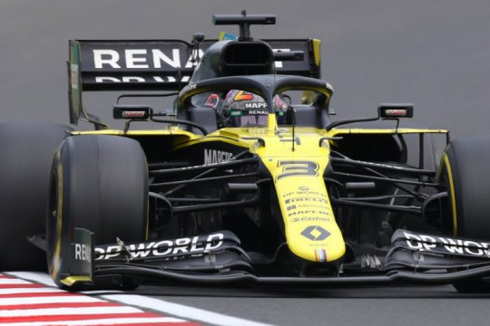Renault buat sasis baru untuk Ricciardo jelang kualifikasi GP Britania