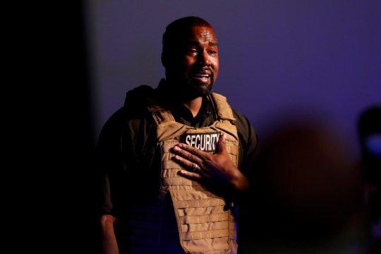 Bahas aborsi, Kanye West tak kuasa tahan tangis saat pidato pertama