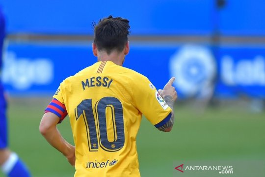 Messi raih El Pichichi empat musim beruntun dan cetak rekor baru