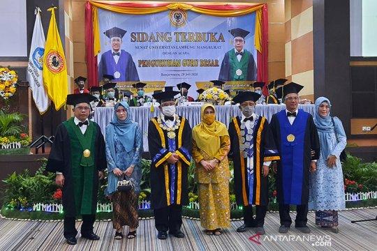 Universitas Lambung Mangkurat kini miliki 56 guru besar