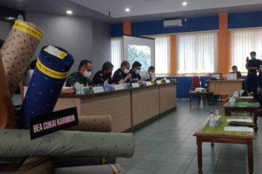 BC Kepri gagalkan penyelundupan tekstil senilai Rp13 miliar