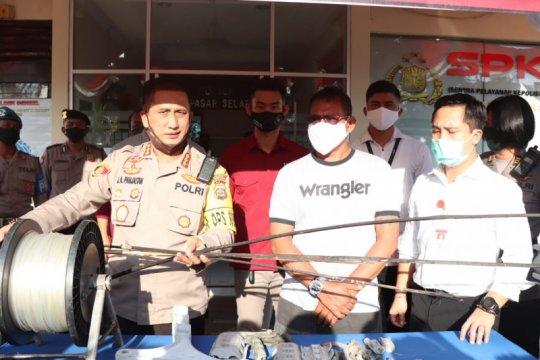 Polisi tangkap pemilik layangan yang sebabkan gardu listrik meledak
