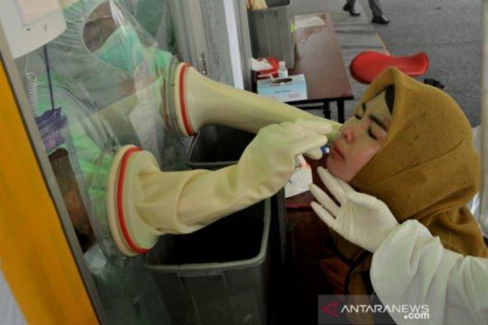 14.000 warga Palembang sudah ikuti uji swab