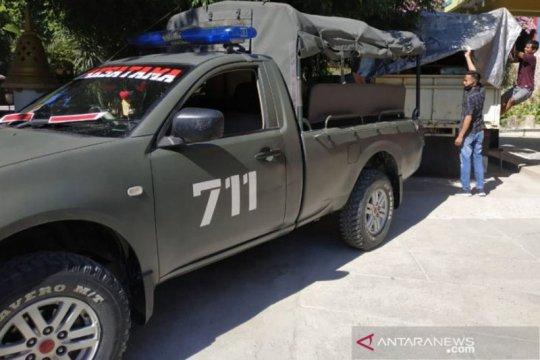 Yonif 711/Raksatama Palu kirim bantuan kepada korban banjir Masamba