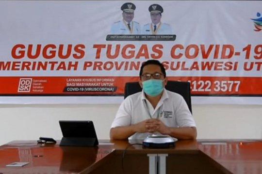 Kasus positif COVID-19 Sulut hampir capai 2.000 orang