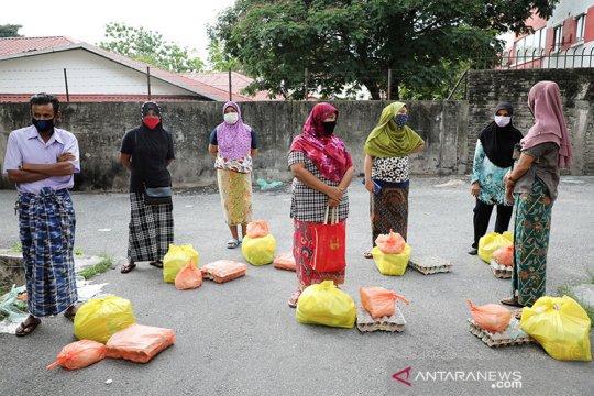 Malaysia tunda deportasi 1.200 warga Myanmar