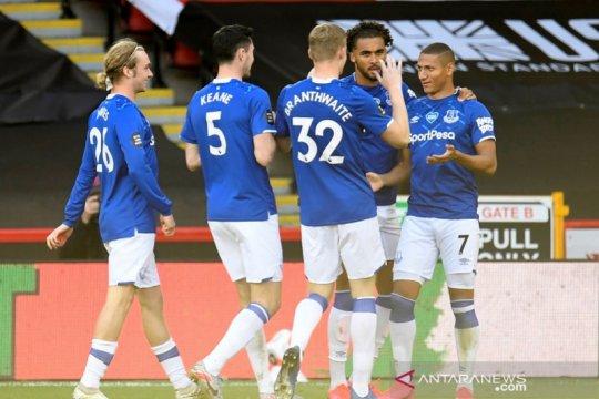 Everton atasi Sheffield saat Brighton dan Newcastle berbagi poin