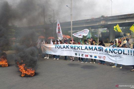 Mahasiswa kembali demo terkait reklamasi Ancol