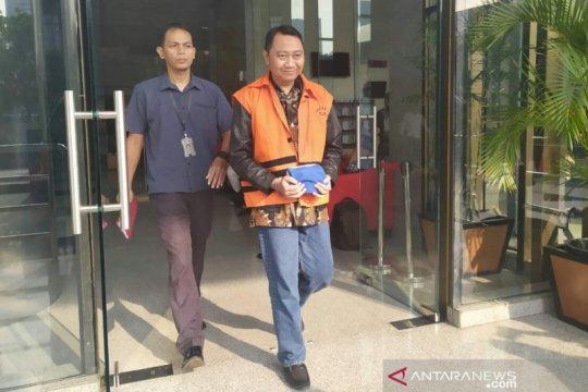 KPK eksekusi Agung Ilmu Mangkunegara ke Rutan Bandarlampung