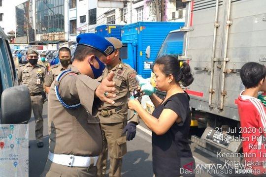 Tibmask Jakarta Barat jaring 1.856 pelanggar di pekan pertama PSBB