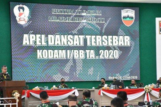 Pangdam I/BB ingatkan netralitas TNI pada pelaksanaan pilkada