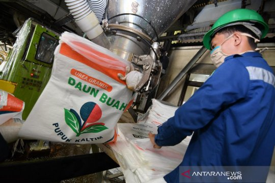 Produksi Pupuk Kaltim lampaui target, capai 5,15 juta ton triwulan III