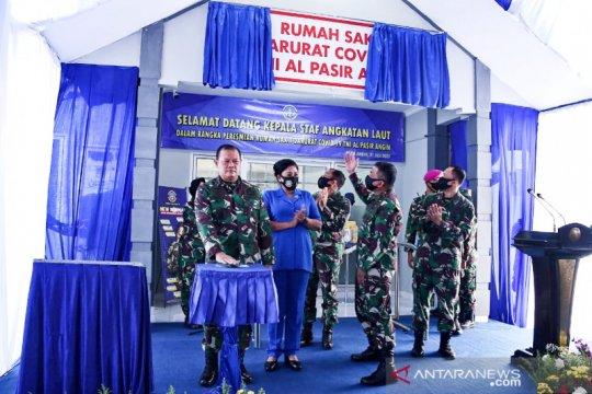 Kasal resmikan penggunaan Rumah Sakit Darurat Covid-19 TNI AL