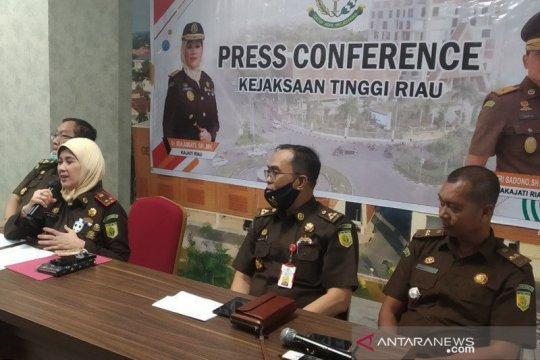 Kejati Riau tetapkan dua tersangka dugaan korupsi di Disdik