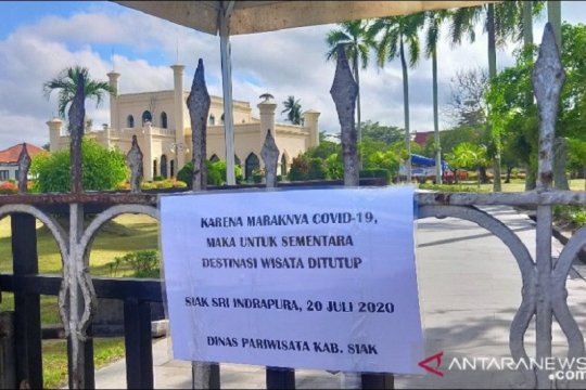 Istana Siak kembali ditutup pasca melonjaknya COVID-19
