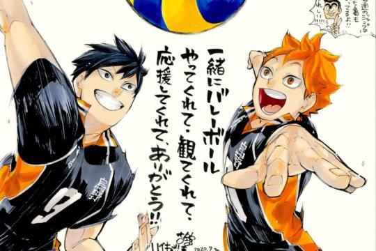 """Volume terakhir manga """"Haikyuu!!"""" akan rilis November 2020"""