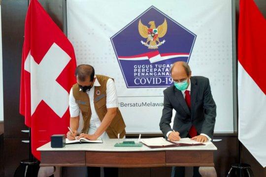 Indonesia-Swiss bermitra tanggulangi bencana