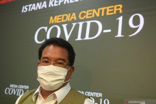Jubir satgas COVID-19 jelaskan soal tingginya tingkat kematian nakes