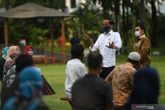 Presiden undang pekerja informal ke Istana Bogor untuk diberi modal