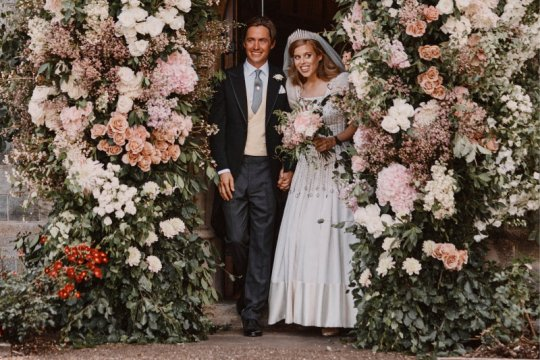 Menikah diam-diam, Putri Beatrice kenakan gaun tua Ratu Elizabeth