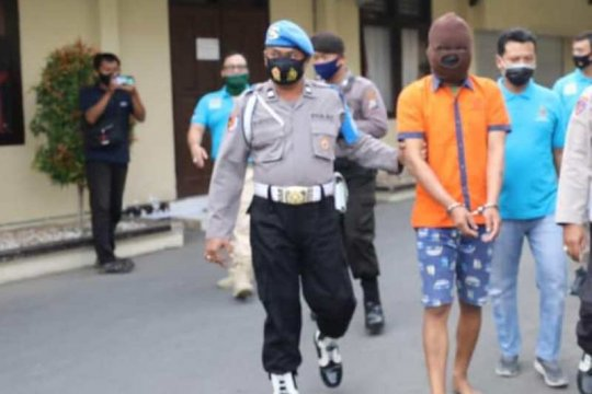 Polres Madiun Kota tangkap seorang polisi gadungan pelaku pemerasan