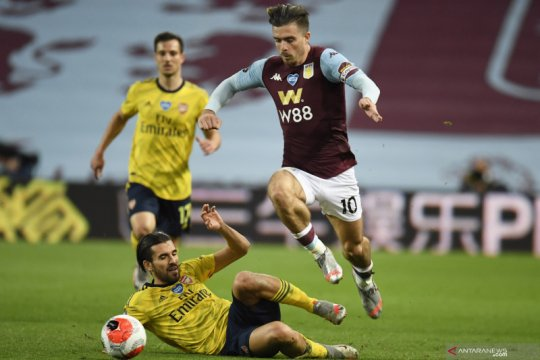 Manager Villa tidak yakin soal masa depan Jack Grealish