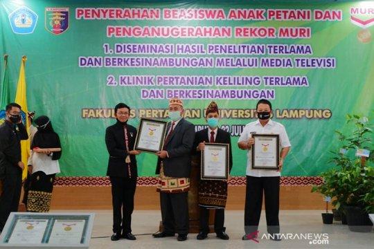 Universitas Lampung raih dua rekor MURI