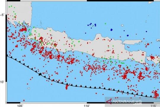 Jawa Barat daerah paling aktif gempa di Pulau Jawa