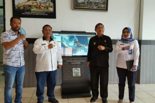 Deteksi gempa, BMKG pasang WRS generasi baru di Kabupaten Karo-Sumut