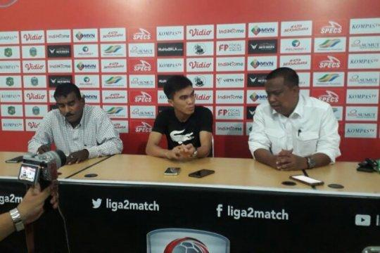 Paolo Sitanggang merapat ke PSMS Medan