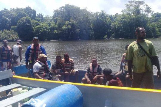 Lima penumpang hilang dalam kecelakaan laut di perairan Mamberamo Raya