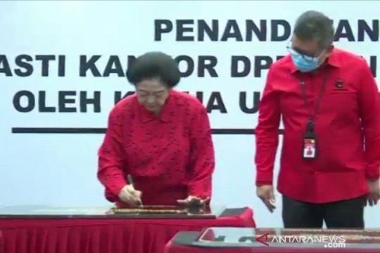Resmikan 20 kantor partai, Megawati: Kantor partai rumah bagi rakyat