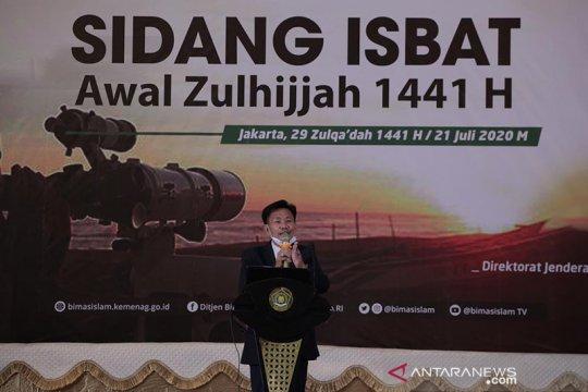 Isbat tetapkan Idul Adha 1441 H jatuh pada 31 Juli