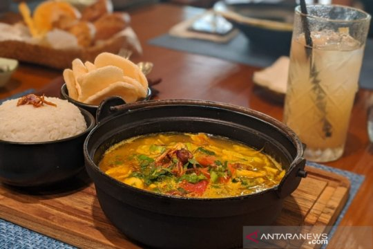 Menepi sejenak dari Jakarta, nikmati hidangan Nusantara