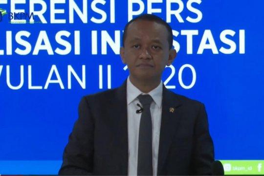 BKPM tidak akan revisi lagi target realisasi investasi 2020