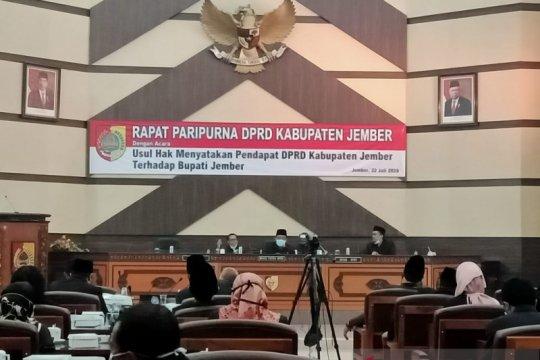 Bupati Jember tidak hadiri paripurna hak menyatakan pendapat DPRD