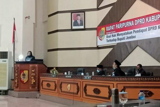 DPRD Jember sepakat usulkan pemberhentian Bupati Faida