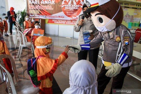 Peringatan Hari Anak Nasional di Sidoarjo