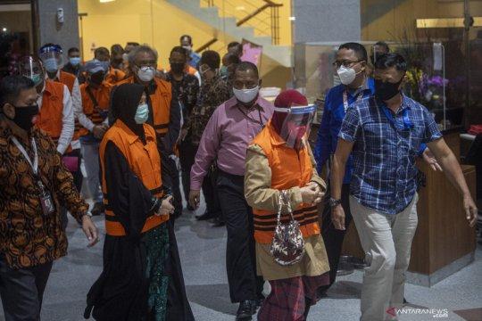 KPK tahan 11 orang mantan anggota DPRD Sumatera Utara