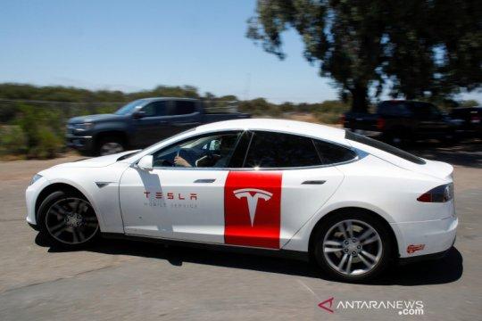Tesla klaim permintaan kendaraan listrik meningkat selama pandemi