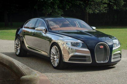 Bugatti tunda pengembangan model kedua
