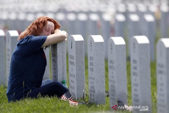 AS catat lebih dari 1.000 kematian COVID-19 tiga hari berturut-turut