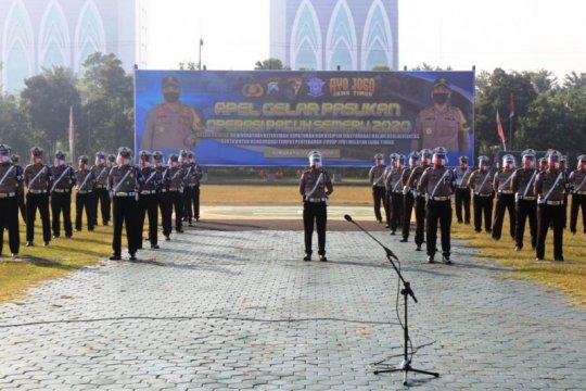 3.073 personel Polda Jatim disiagakan dalam Operasi Patuh Semeru 2020